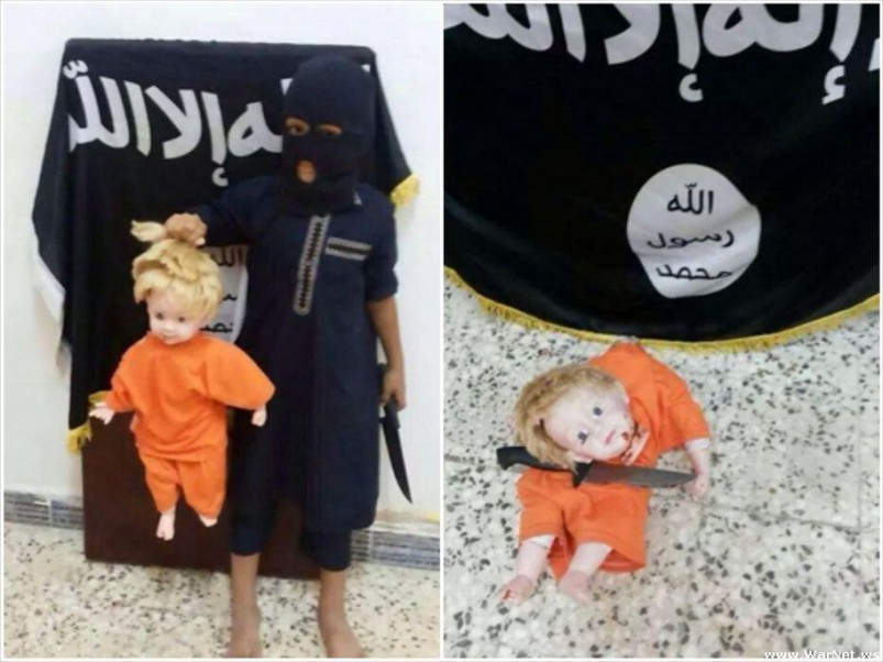 Does your child like to practice beheadings on dolls?
