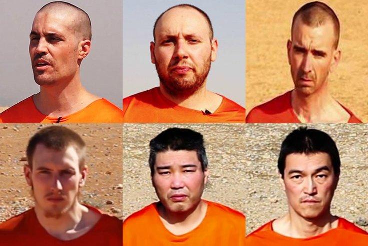 JIHADI JOHN Beheading Victims from US, UK, JAPAN