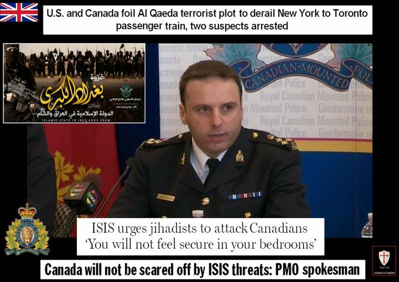 canada isis threats