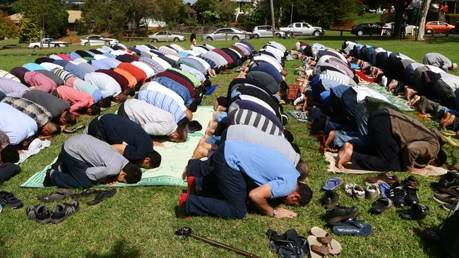 Muslims don't need a mosque. They can lift there asses to allah anywhere they want and they do.