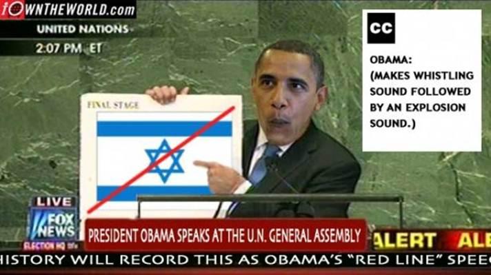 Obama's red line