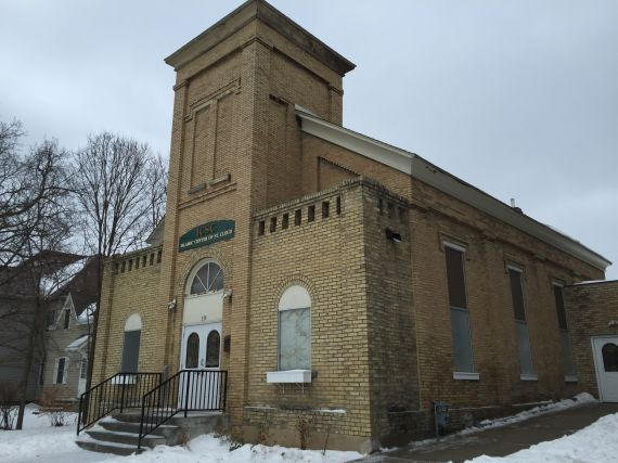 Islamic Center of St. Cloud, obviously a former church