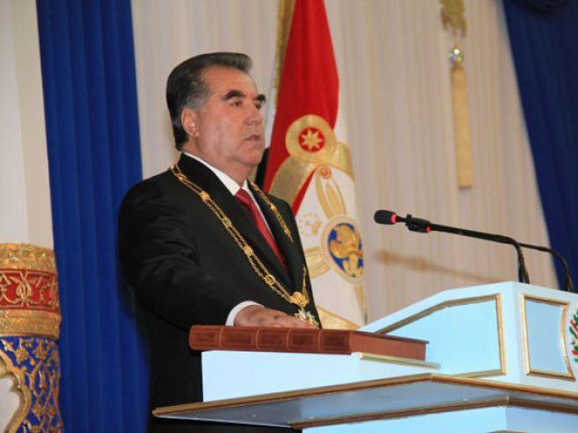 Tajikistan's President Emomali Rahmon has instructed the country's Parliament to consider a bill that would ban Muslim-sounding names in the former Soviet republic