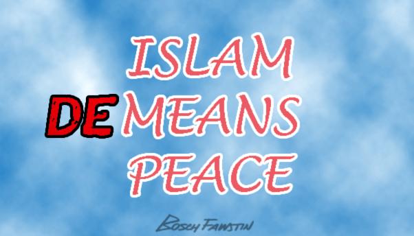 Islam Demeans Peace