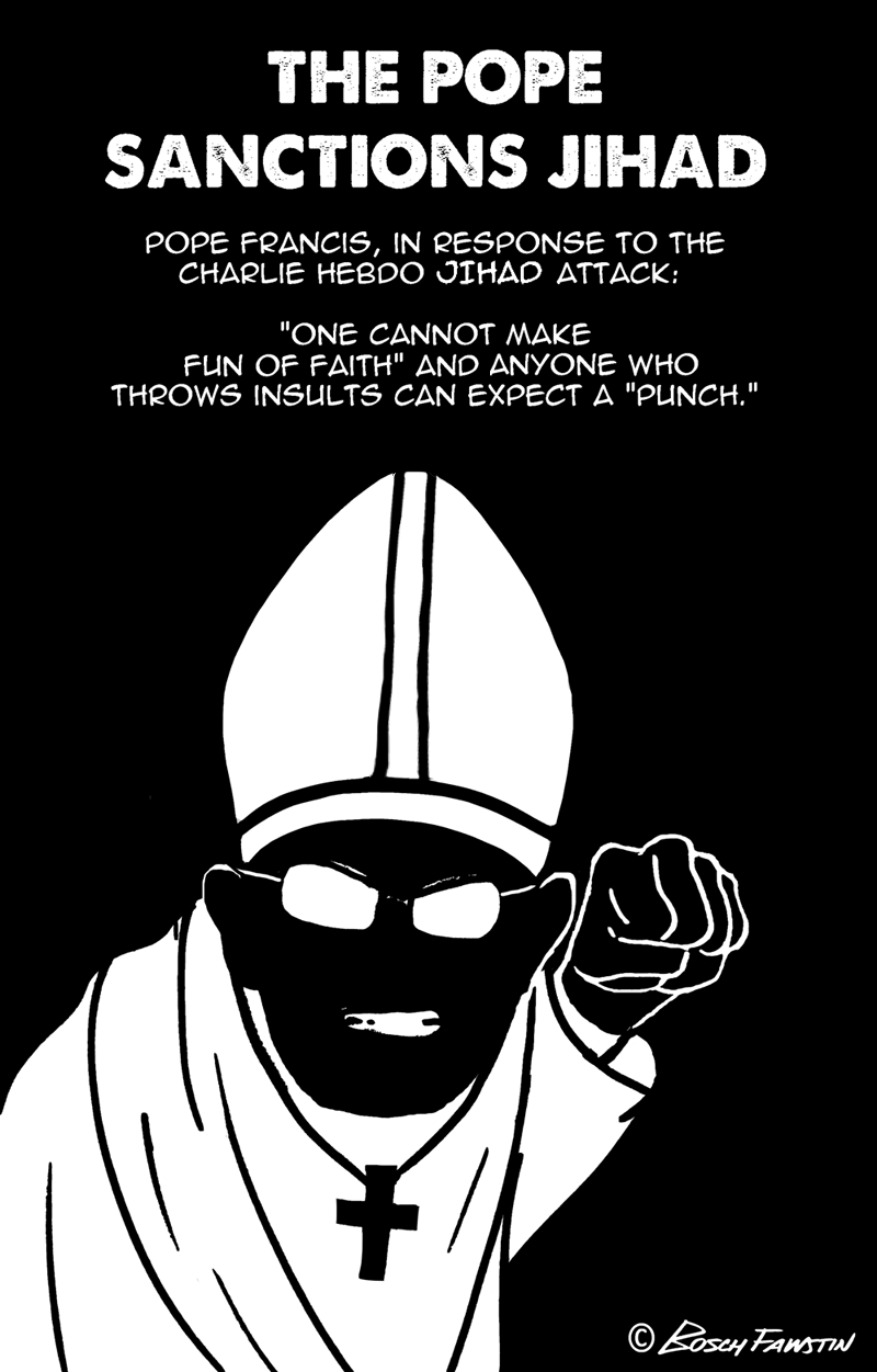 The Pope Sanctions Jihad 4 blog