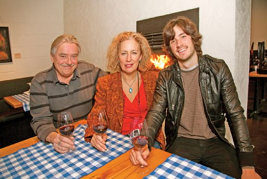 Paul and Danielle Bigue, owners of Le Papillon on the Park in Leslieville, seen with their son Stephane