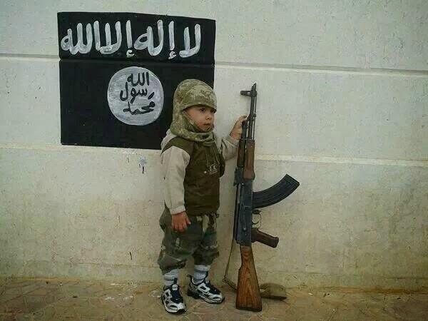 syria isis flag
