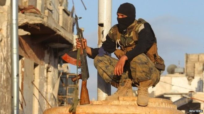 Al-Nusra Front is part of a rebel alliance (Obama's pals?) that now controls much of Idlib province