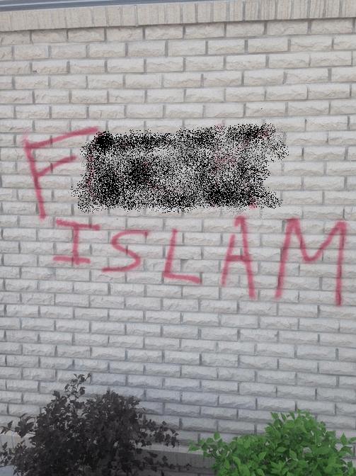 Hate-graffiti