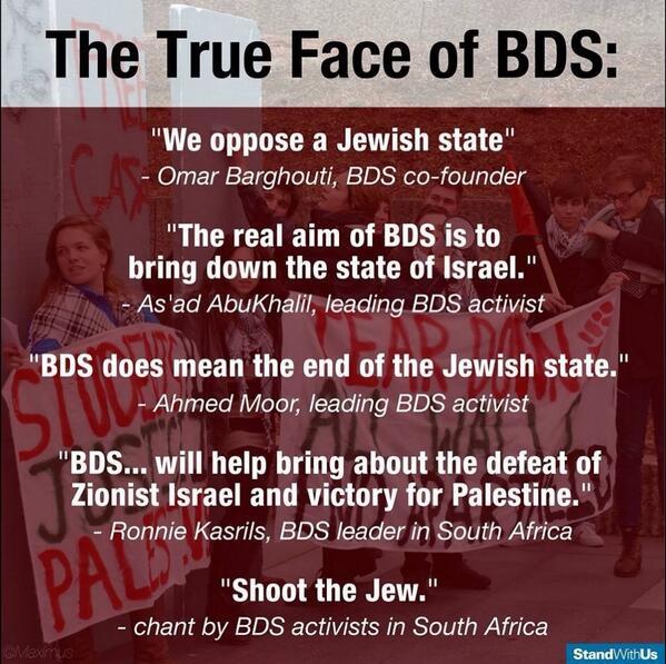 La Verdadera Cara de BDS