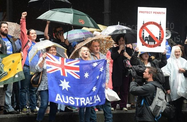 austalia-antiislam-rally-afp