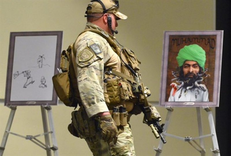 Garland, Texas: Draw the prophet Muhammad Cartoon Contest