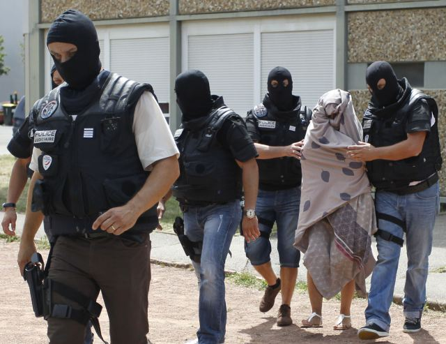 French police arrest wife of one of the terrorists
