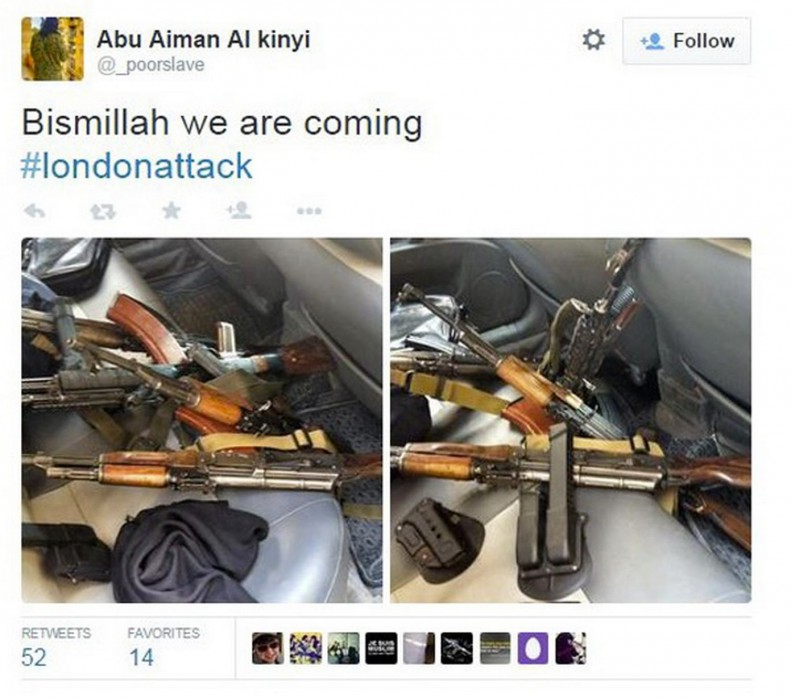 ISIS-Threaten-London-with-a-Terror-Attack