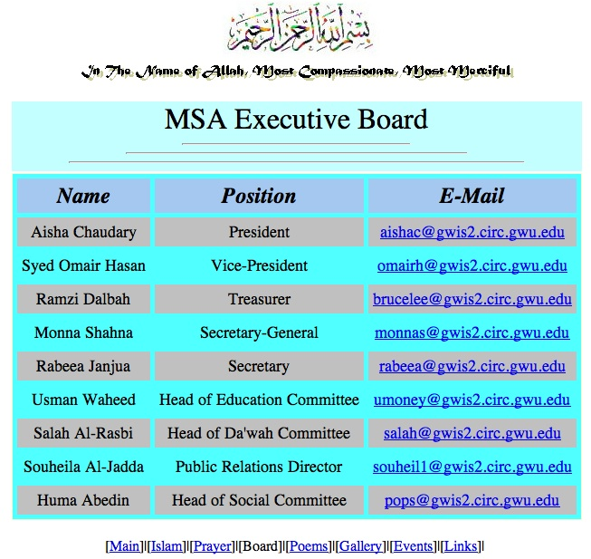 MSA (Muslim Student Association) along with CAIR, are the leading North American front groups for the Muslim Brotherhood, the original founder of al-Qaeda