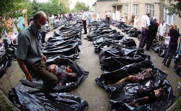The Dead at Beslan