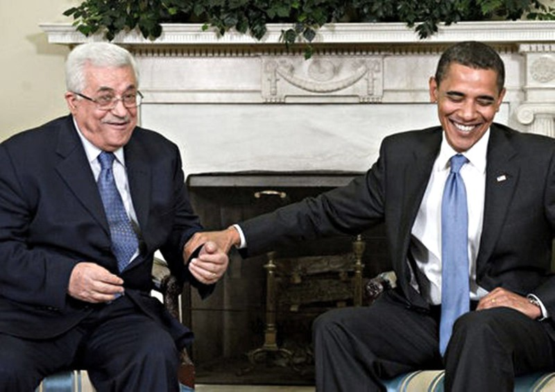 BEST FRIENDS FOREVER: Abbas and Obama