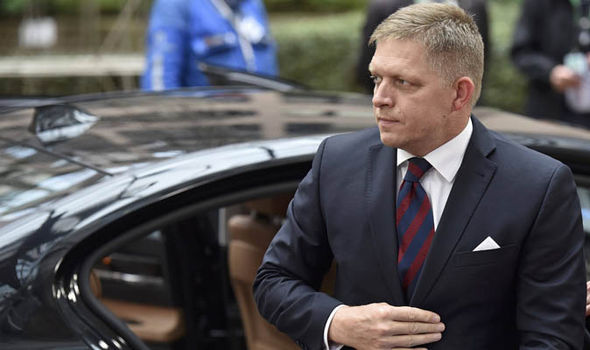 Slovakia's Robert Fico says his country will refuse to accept migrants under the quota scheme