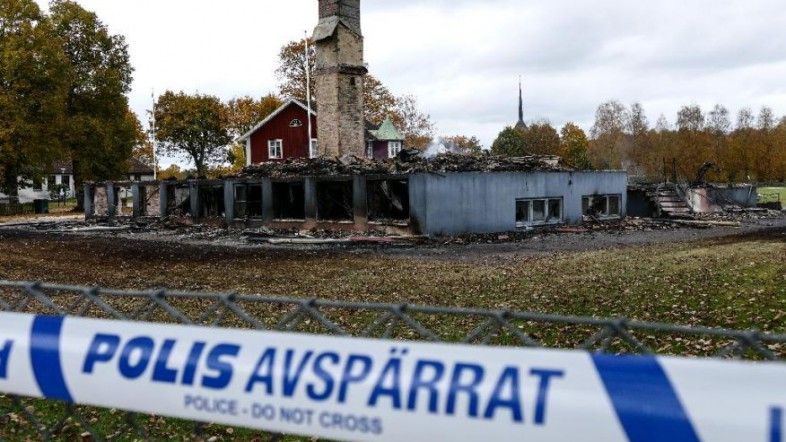 Sweden Migrants Arson Attacks-2