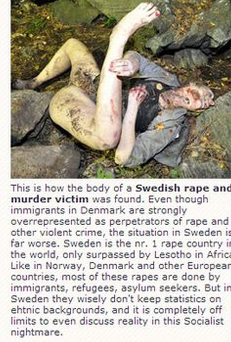 Sueco-Violación-Víctima