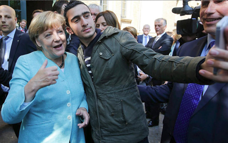 Germans hate Merkel but Muslim jihadists love her now