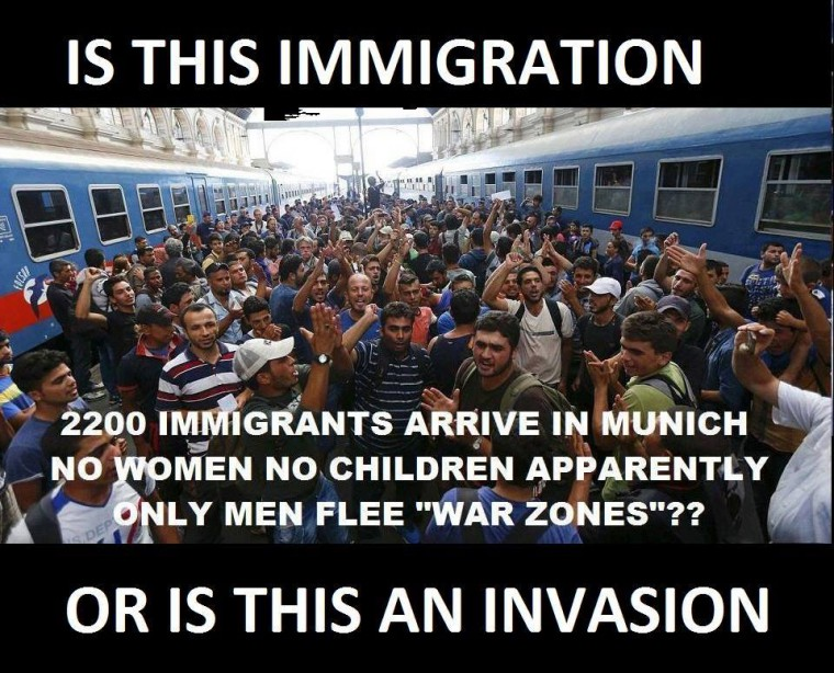 Image result for pics of germany and migrant invasion