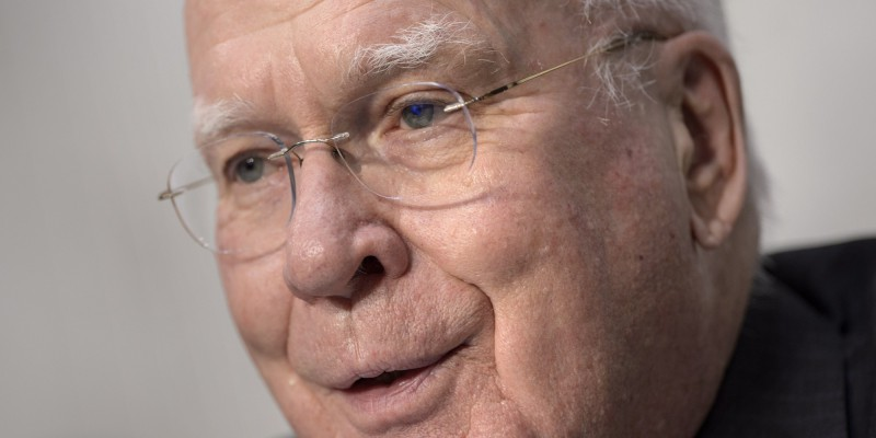 National Suicide proponent Democrat Senator Patrick Leahy