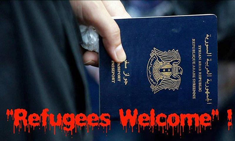 los refugiados-bienvenida-sirio-pasaporte