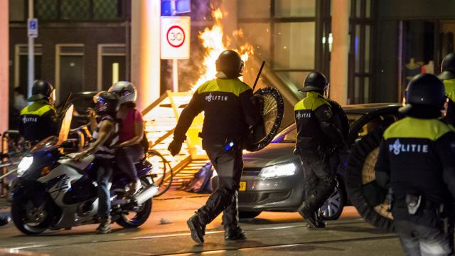 disturbios Schilderswijk
