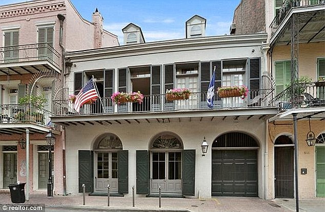 Brad Pitt and Angelina Jolie put their home in New Orleans up for sale for £4.5million last year