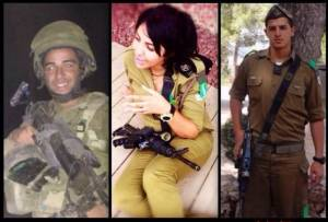 All 3 children – 2 boys and a girl – of Arab-Israeli political activist Annet Haskia chose to serve in the IDF