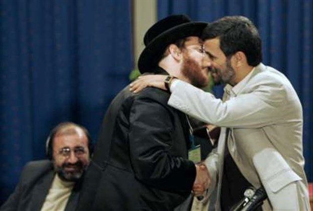 NK Rabbi was invited to Iran as a special guest of former president Mahmoud Ahmadinejad