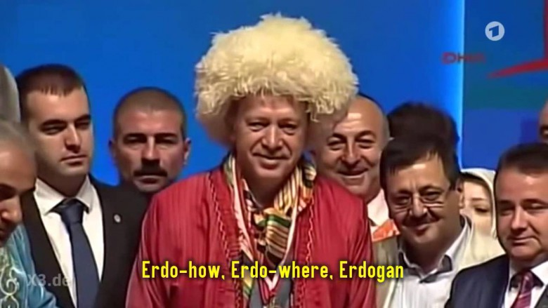 Turkey orders Germany to stop showing video making fun of Erdogan