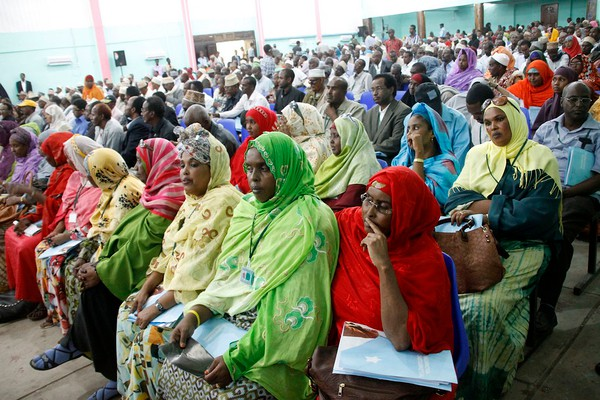 Somali Muslim new additions to the welfare rolls. None of the women ever work