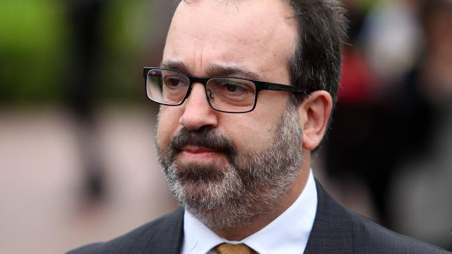 Looking like he just swallowed a turd, Victorian Attorney-General Martin Pakula, whined about all the negative feedback on the appointment