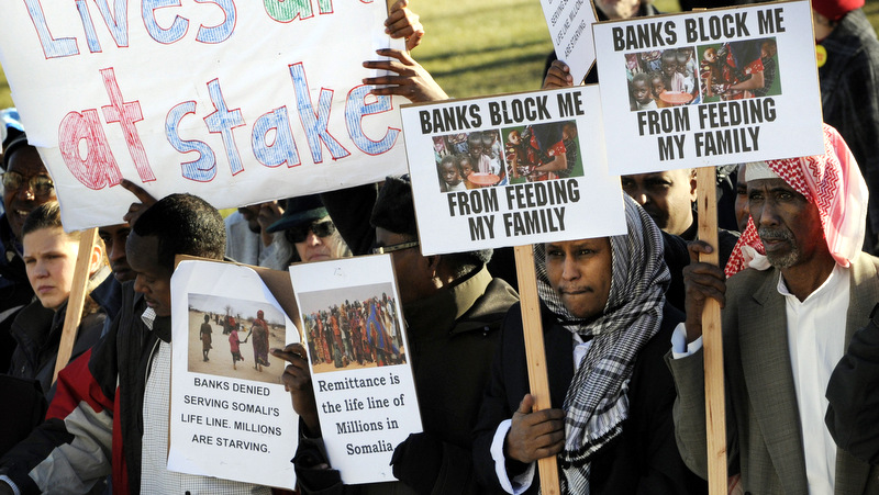Any extra money they get from Welfare goes back to Somalia but a lot of it ends up in terrorists' pockets which is why banks are refusing to honor money transfers to Somalia
