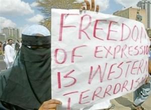 SignIslamFreeSpeechWesternTerrorism