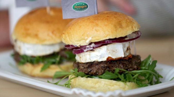 ERDOGAN GOAT CHEESE BURGER