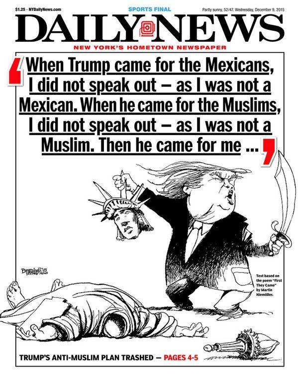 NYDN Donald Trump