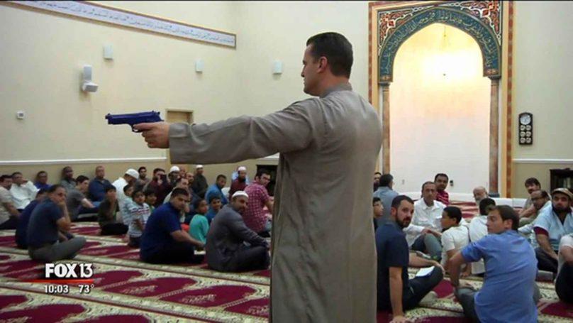 CAIR'S 'Deputy Hamze teaches radical mosque goers how to use guns