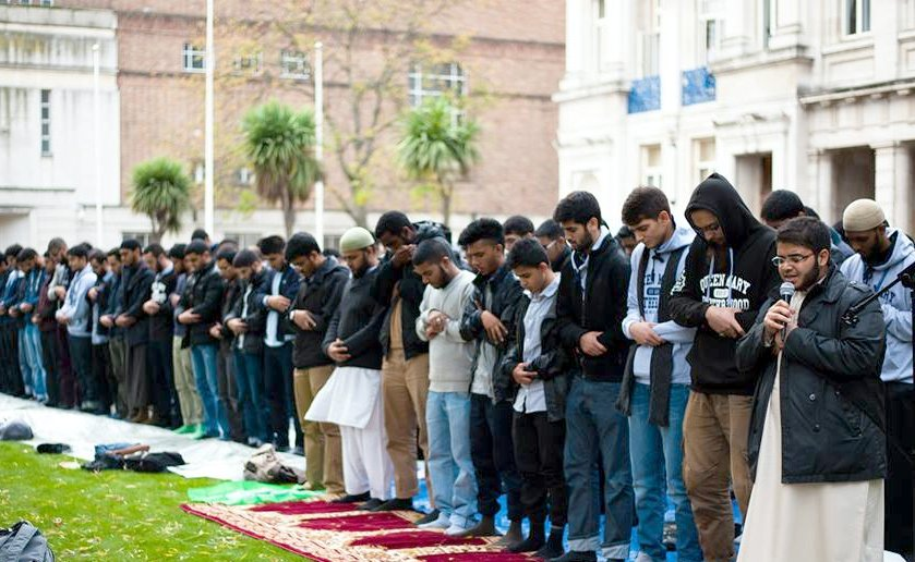 If they don't have their own prayer rooms, they'll just take it outside to throw their 'religion' in your face