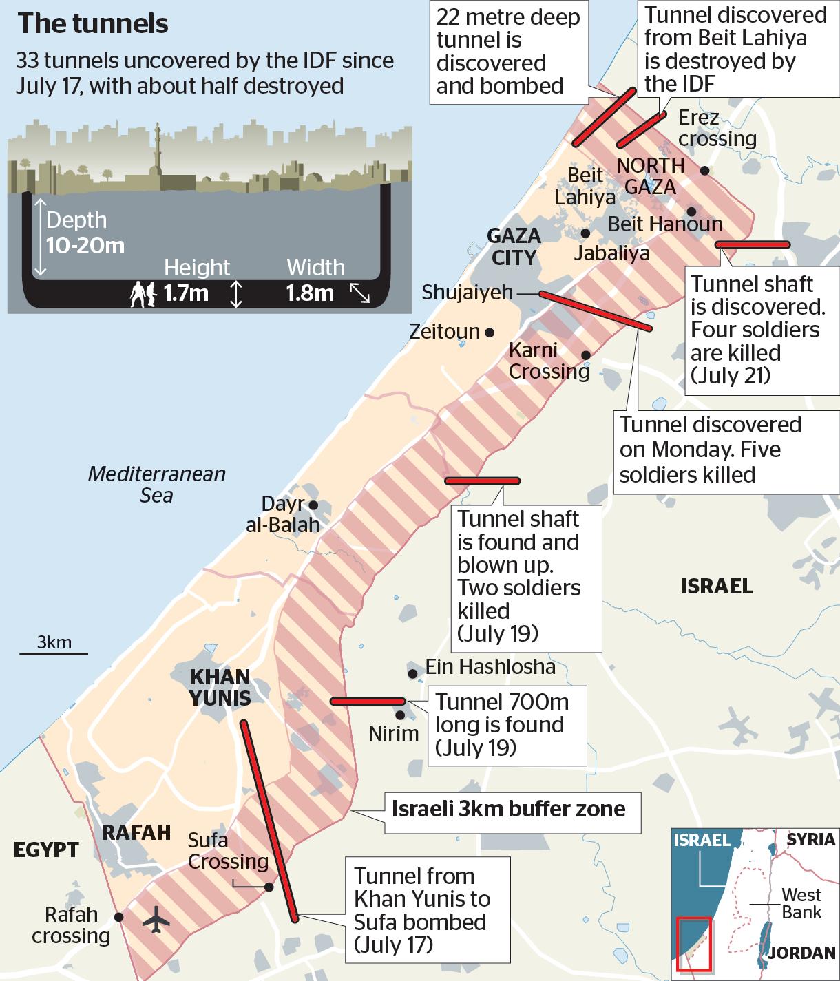 ISRAEL To Build A Massive Underground Wall On Gaza Border To Block - Map of zeitoun egypt