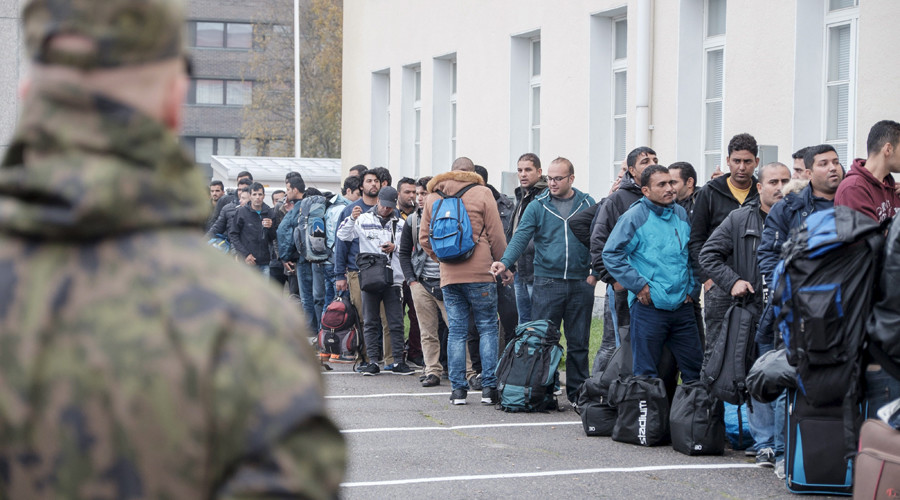 Muslim asylum seeking invaders in Finland