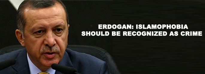 The Islamofascist president of Turkey, Recep Tayyip Erdogan concurs