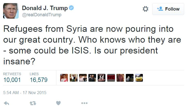 trump-syrian-refugees-tweet