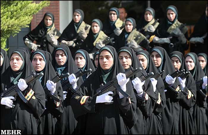 Iranian policewomen