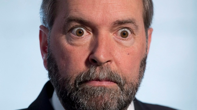 Thomas Mulcair, Islam apologist