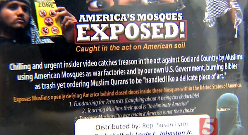 A Republican state lawmaker from Tennessee is under attack from Democrats because she disseminated a video that tells the truth about Islam
