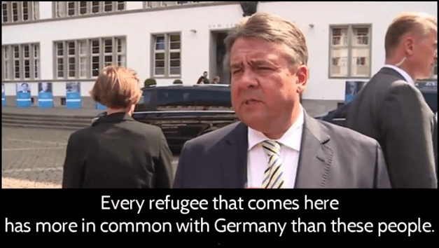 """RISE OF THE 4TH REICH? German Vice Chancellor Sigmar Gabriel recently called for the """"rounding up and imprisonment of German citizens who oppose mass Muslim immigration"""