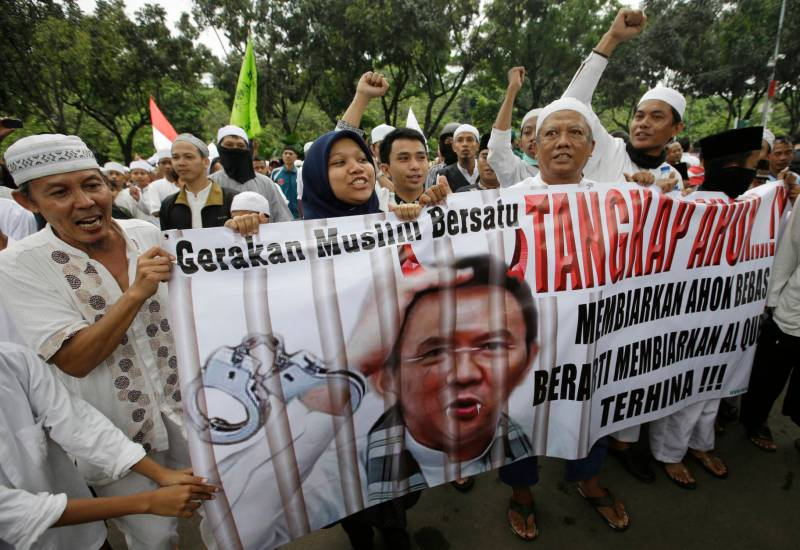 Indonesia Blasphemy Protest